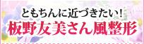 板野友美さん風整形